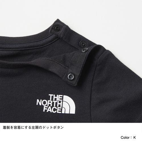 ノースフェイスこどもよう子供用キッズTシャツ