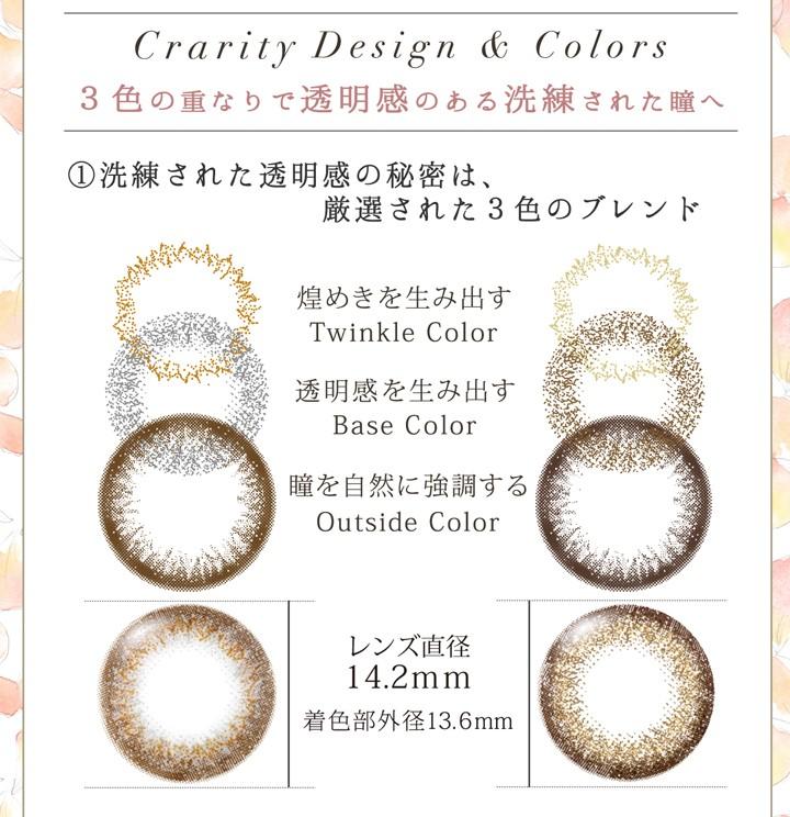 3色の重なりで透明感のある洗練された瞳へ