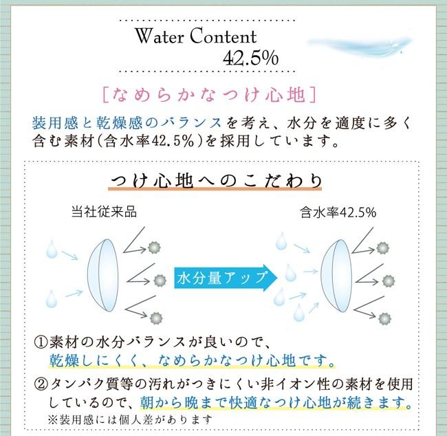 含水率42.5%