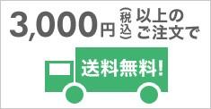 3000円で送料無料