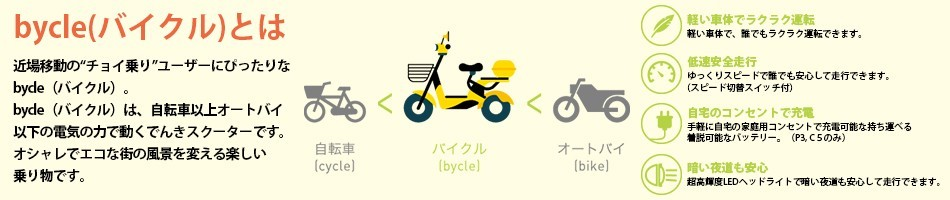 bycle(バイクル)とは