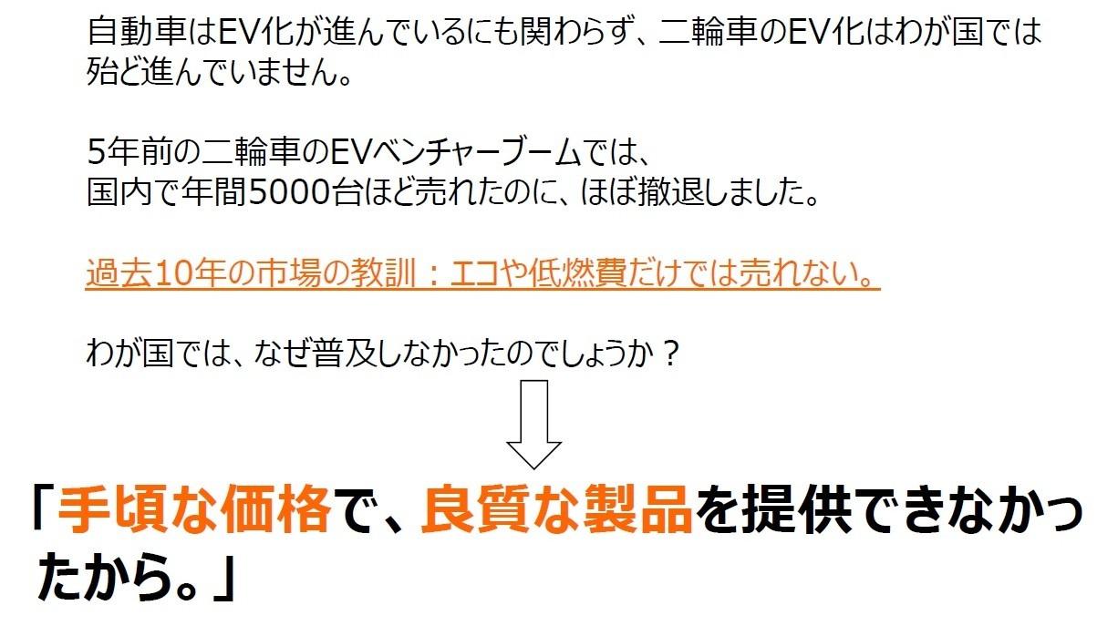 電動バイク宣伝3