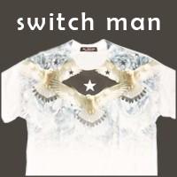 ワイルド柄Tシャツ