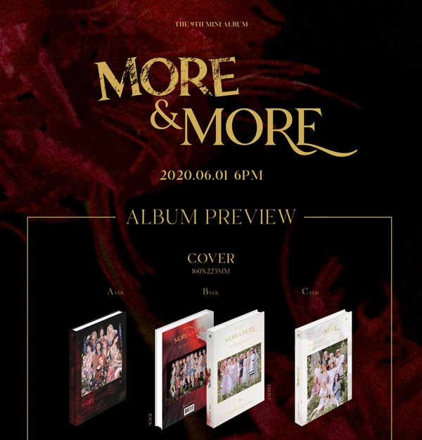 MORE & MORE/A ver.:TWICE 9th Mini Album