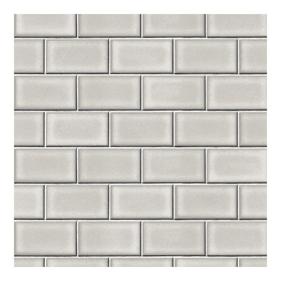 壁紙 張り替え 自分で Diy クロス おしゃれ タイル柄 輸入壁紙 Subway Tile サブウェイタイル フリース製 不織布 Kdid011 ビニールカーテンのcレンジャー 通販 Yahoo ショッピング