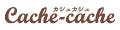 猫雑貨専門店 Cache-cache ロゴ