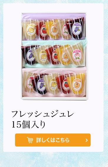 フレッシュジュレ 15個入(5種類×3個)