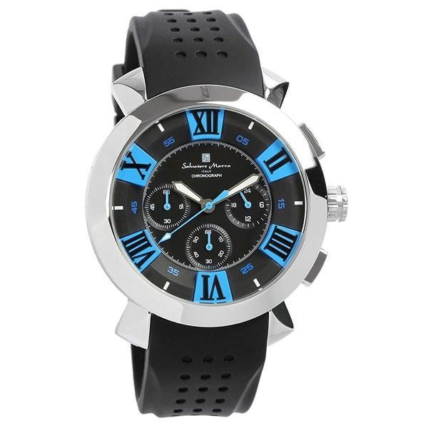 エントリーでP5倍 サルバトーレマーラ 腕時計 メンズ クロノグラフ 立体 限定モデル ラバー ブランド 流行 人気  10気圧防水 ギフト|cameron|23