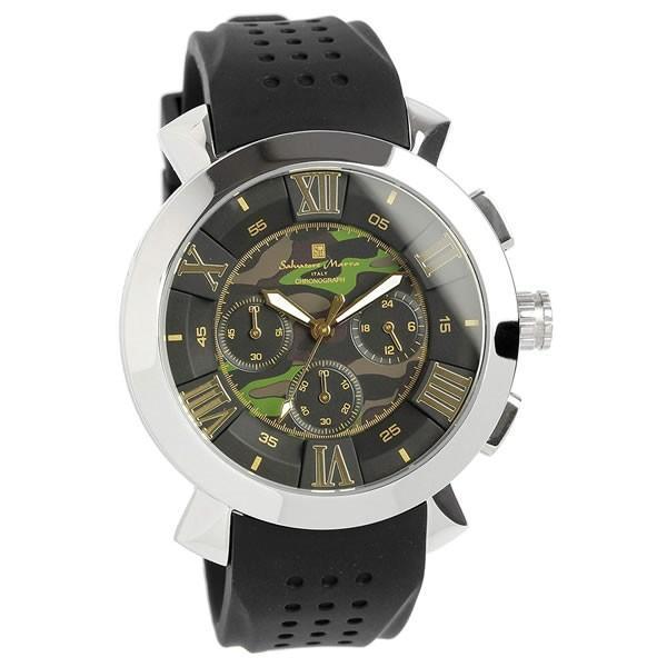 エントリーでP5倍 サルバトーレマーラ 腕時計 メンズ クロノグラフ 立体 限定モデル ラバー ブランド 流行 人気  10気圧防水 ギフト|cameron|21