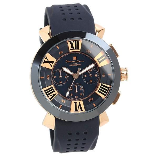 エントリーでP5倍 サルバトーレマーラ 腕時計 メンズ クロノグラフ 立体 限定モデル ラバー ブランド 流行 人気  10気圧防水 ギフト|cameron|22
