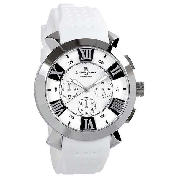 エントリーでP5倍 サルバトーレマーラ 腕時計 メンズ クロノグラフ 立体 限定モデル ラバー ブランド 流行 人気  10気圧防水 ギフト|cameron|18