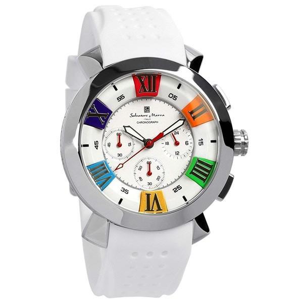 エントリーでP5倍 サルバトーレマーラ 腕時計 メンズ クロノグラフ 立体 限定モデル ラバー ブランド 流行 人気  10気圧防水 ギフト|cameron|19
