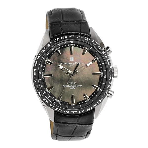 エントリーでP5倍 サルバトーレマーラ GPS 衛星電波時計 電波 腕時計 メンズ ブランド 限定モデル SM17118 cameron 21