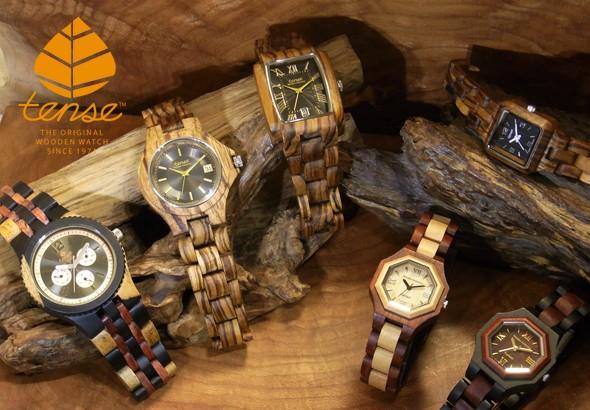 TENSE(テンス社)の木製腕時計【ウッドウォッチ】