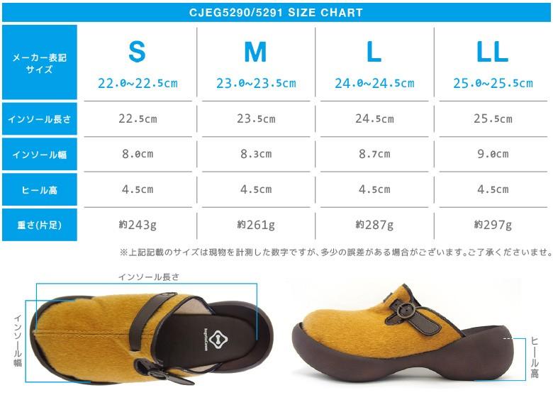 CJEG5290サイズ