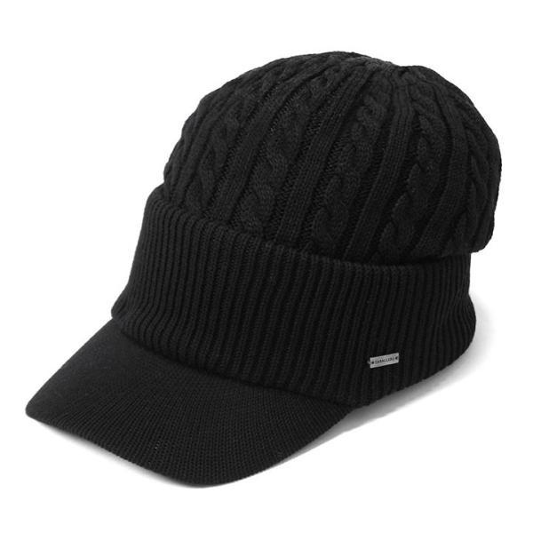 帽子 メンズ レディース ニット帽 つば付き ケーブル編み | キャバレロ Caballero (YP)|caponspotz|20