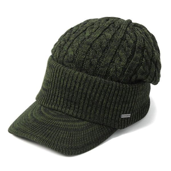 帽子 メンズ レディース ニット帽 つば付き ケーブル編み | キャバレロ Caballero (YP)|caponspotz|34