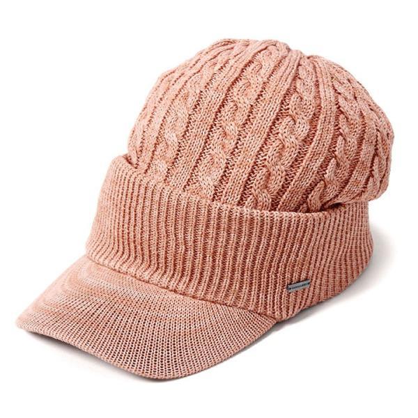 帽子 メンズ レディース ニット帽 つば付き ケーブル編み | キャバレロ Caballero (YP)|caponspotz|27