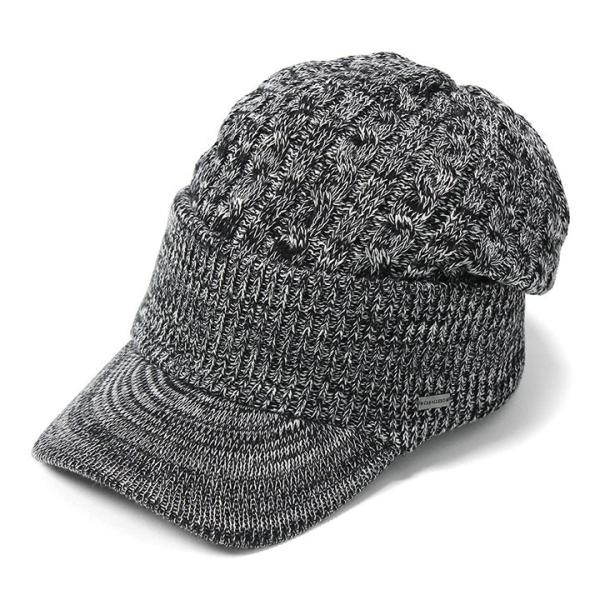 帽子 メンズ レディース ニット帽 つば付き ケーブル編み | キャバレロ Caballero (YP)|caponspotz|30