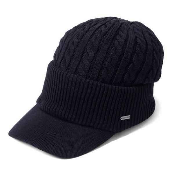 帽子 メンズ レディース ニット帽 つば付き ケーブル編み | キャバレロ Caballero (YP)|caponspotz|21