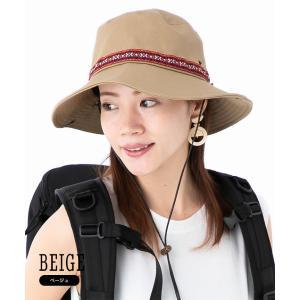 帽子 レディース 春夏 UVカット サファリハット   カブロカムリエ(cablocamurie) (MB) 帽子屋オンスポッツ