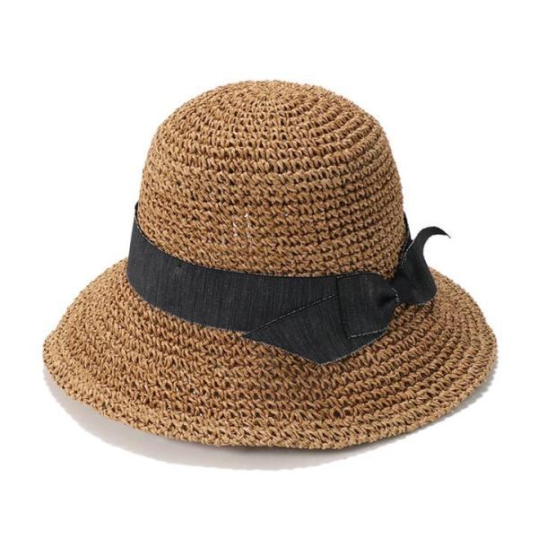 帽子 レディース ハット 春 夏 麦わら帽子 イロドリ irodori  (MB)|caponspotz|22