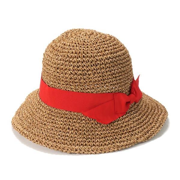帽子 レディース ハット 春 夏 麦わら帽子 イロドリ irodori  (MB)|caponspotz|23