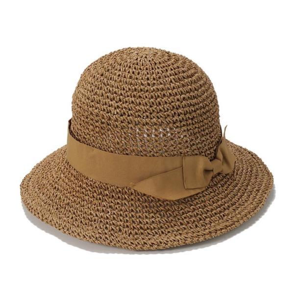 帽子 レディース ハット 春 夏 麦わら帽子 イロドリ irodori  (MB)|caponspotz|24