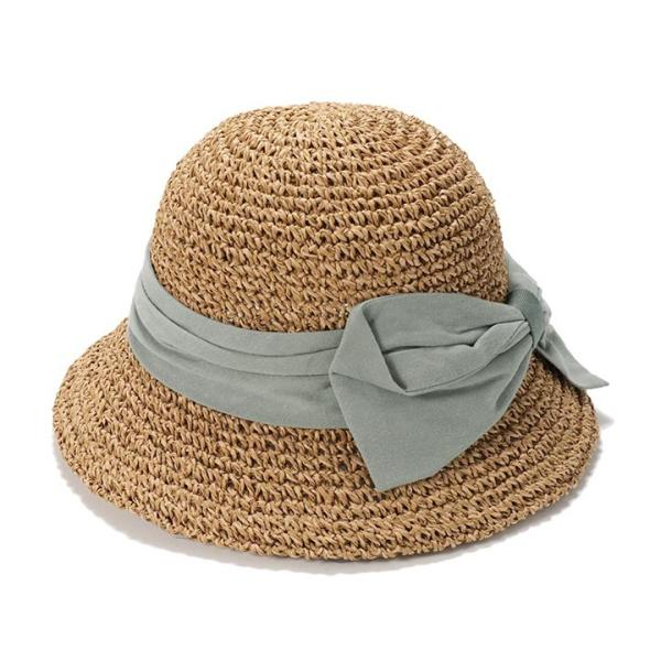 帽子 レディース ハット 春 夏 麦わら帽子 イロドリ irodori  (MB)|caponspotz|27