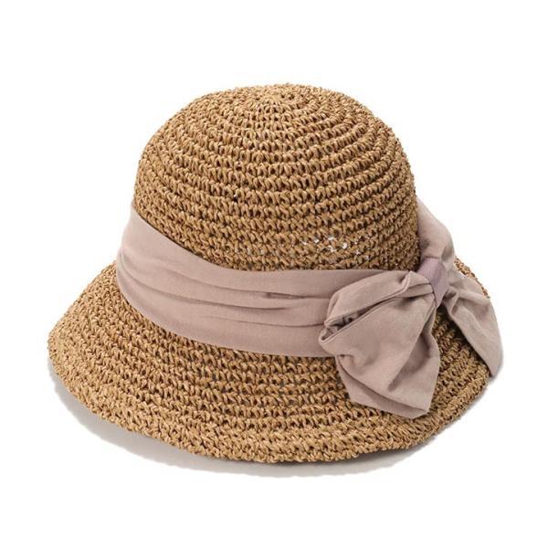 帽子 レディース ハット 春 夏 麦わら帽子 イロドリ irodori  (MB)|caponspotz|28