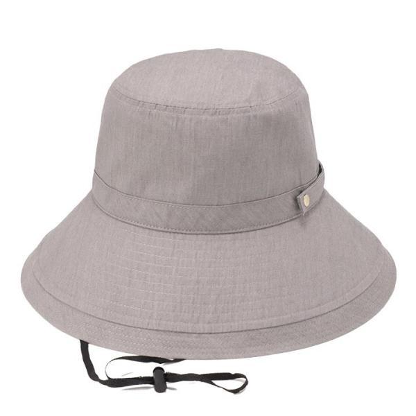 帽子 レディース 春 夏 UVカット UPF50+ コットン ハット | イロドリ irodori (MB)|caponspotz|35