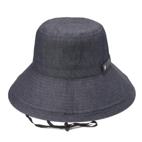 帽子 レディース 春 夏 UVカット UPF50+ コットン ハット | イロドリ irodori (MB)|caponspotz|36