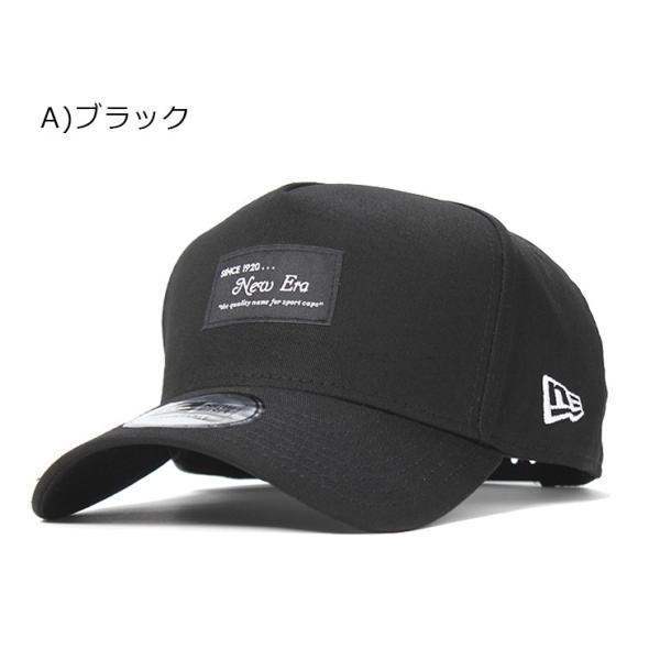 別注 ニューエラ キャップ 帽子 9FORTY BLACK PATCH|caponspotz|20