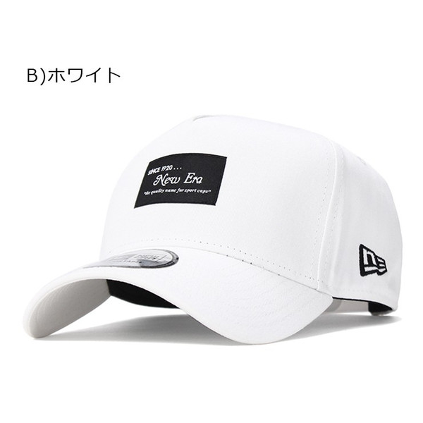別注 ニューエラ キャップ 帽子 9FORTY BLACK PATCH|caponspotz|21