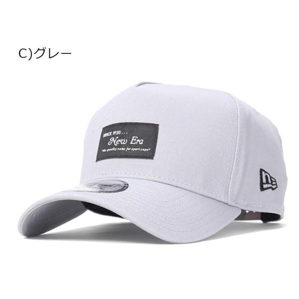 別注 ニューエラ キャップ 帽子 9FORTY BLACK PATCH|caponspotz|22