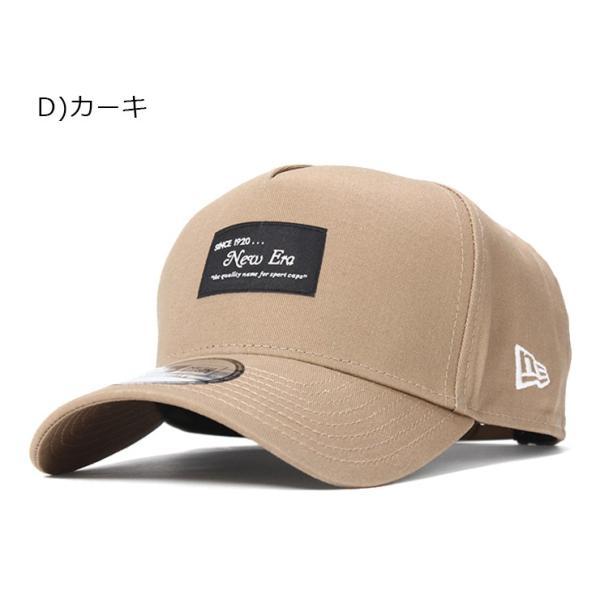 別注 ニューエラ キャップ 帽子 9FORTY BLACK PATCH|caponspotz|23