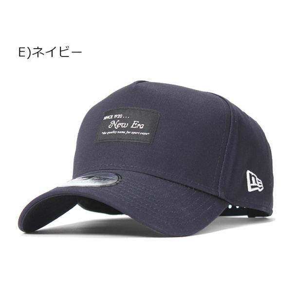 別注 ニューエラ キャップ 帽子 9FORTY BLACK PATCH|caponspotz|24