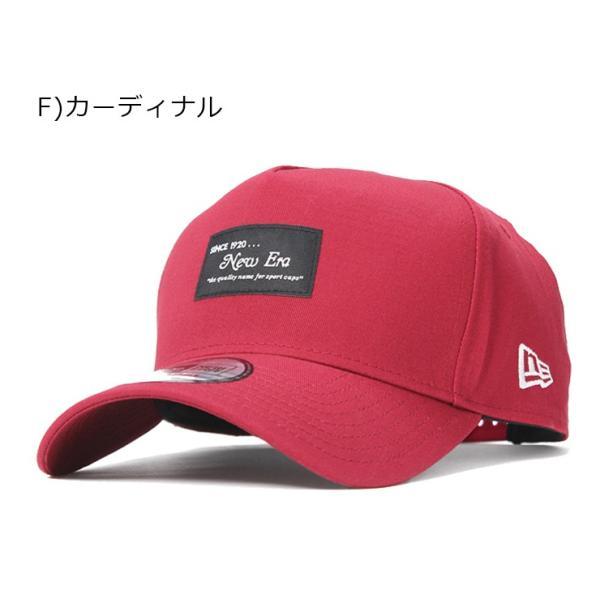 別注 ニューエラ キャップ 帽子 9FORTY BLACK PATCH|caponspotz|25