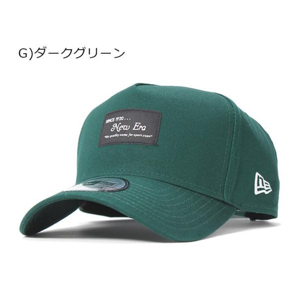 別注 ニューエラ キャップ 帽子 9FORTY BLACK PATCH|caponspotz|26