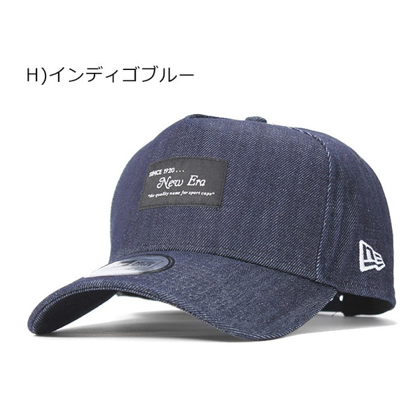 別注 ニューエラ キャップ 帽子 9FORTY BLACK PATCH|caponspotz|27