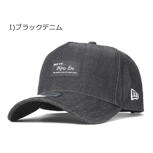 別注 ニューエラ キャップ 帽子 9FORTY BLACK PATCH|caponspotz|28