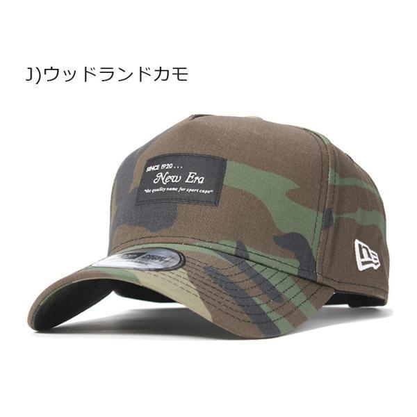 別注 ニューエラ キャップ 帽子 9FORTY BLACK PATCH|caponspotz|29