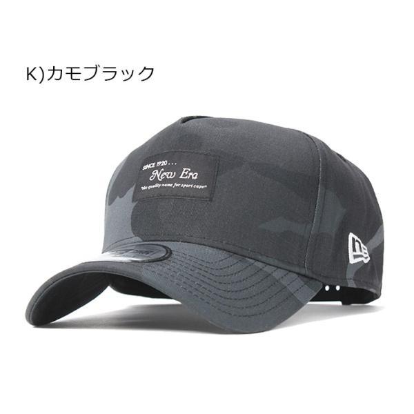 別注 ニューエラ キャップ 帽子 9FORTY BLACK PATCH|caponspotz|30