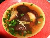 健康椎茸スープ