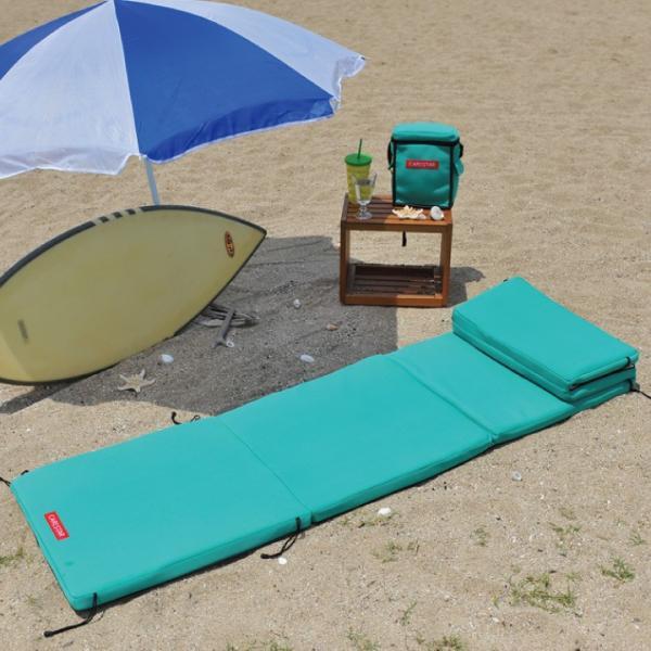 ビーチマット ベッド 防水 カナロア ブラック ウェットスーツ素材 ビーチ アルミ 海水浴 シルバー レジャーシート 洗える キャンプ プール 車中泊 CARESTAR|carestar-shop|18
