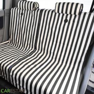 シートカバー ストライプ 軽自動車 全席セット z-style carestar 07