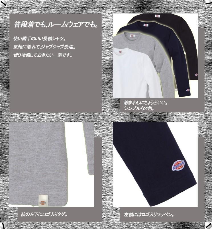 Dickies 長袖TシャツFB462U