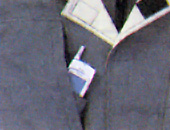 二重胸ポケット