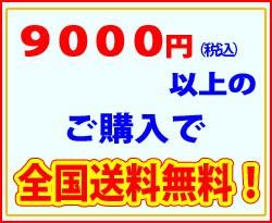 9000円以上のご購入で送料無料