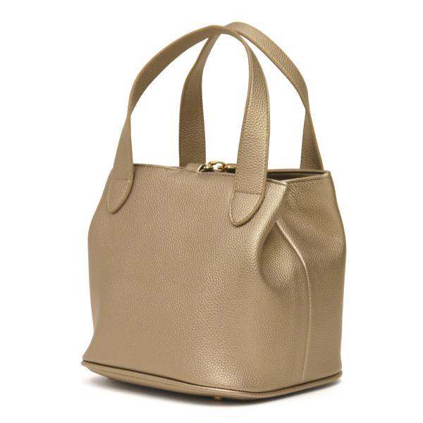 キューブバッグ トートバッグ レディース 通勤 軽量 大容量 ハンドバッグ おしゃれ 合成皮革 ゴールド シャイニー|carron|09